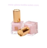 Glass Nail Polish Bottle