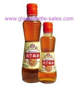 400ml Cooking Oil Glass Bottle