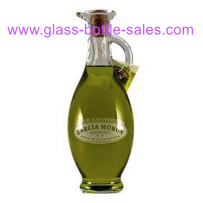 250ml,500ml,750ml Clear Bird Style Olive Oil Glass Bottle with Handle