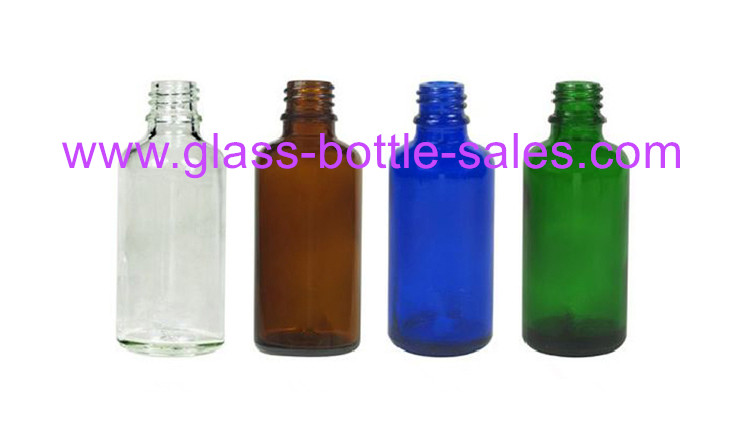 Clear,Amber,Green,Blue Essential Oil Bottles