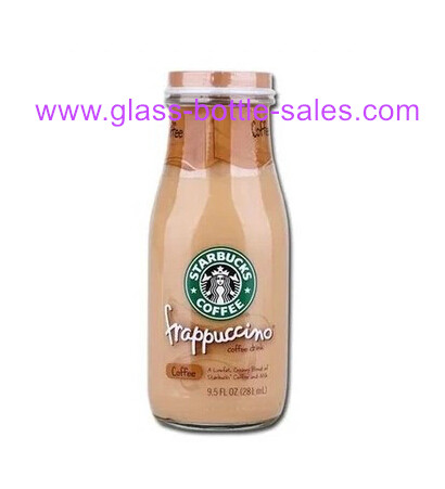 300ml Starbucks Glass Milk Bottle