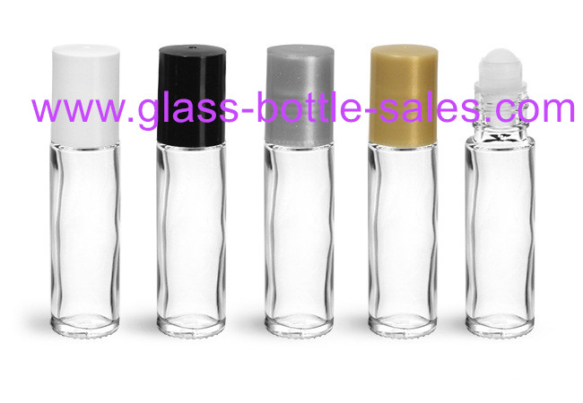 10ml Clear Perfume Roll On Bottle