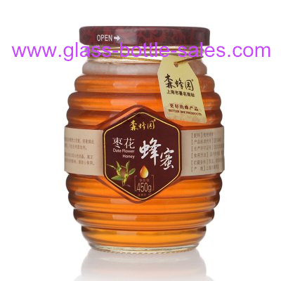 500g Glass Honey Jar With Lid