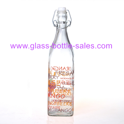 1000ml Swing Top Glass Bottle