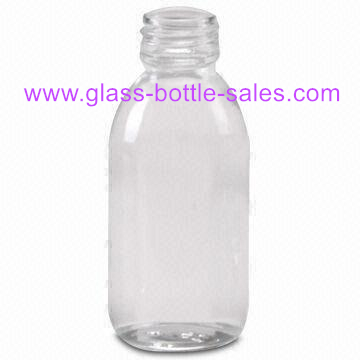 125ml Clear Glass Bottle For Syrup