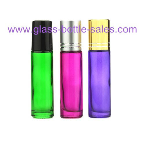 10ml Color Painting Round Perfume Roll On Bottles