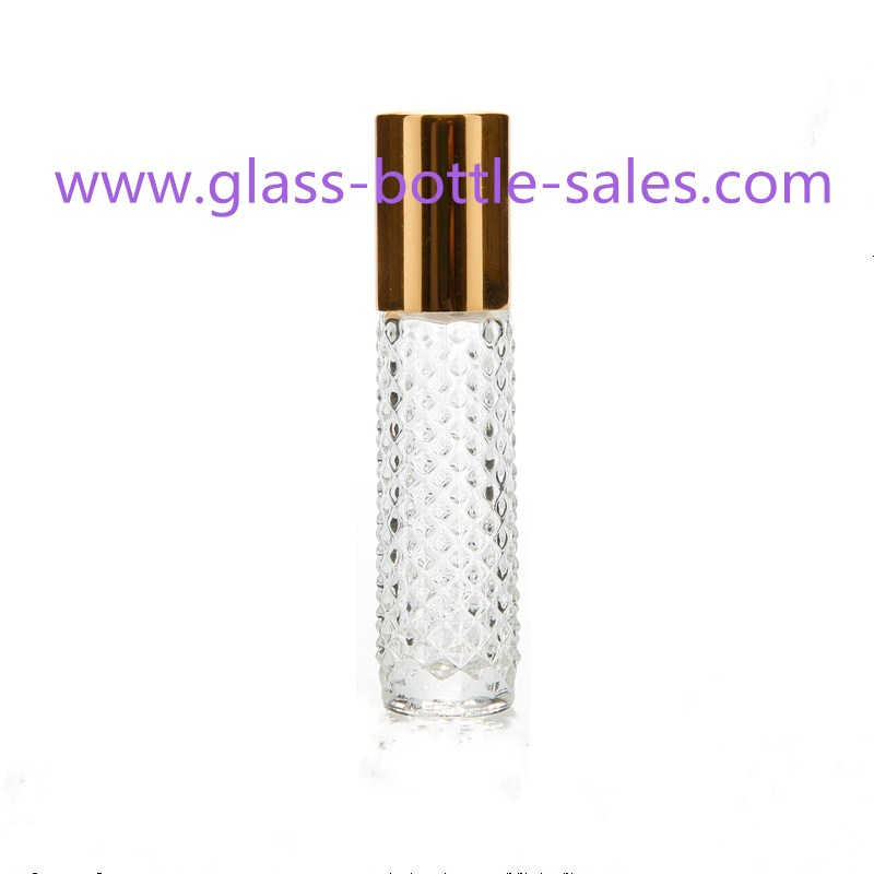 8ml Clear Perfume Roll On Bottle