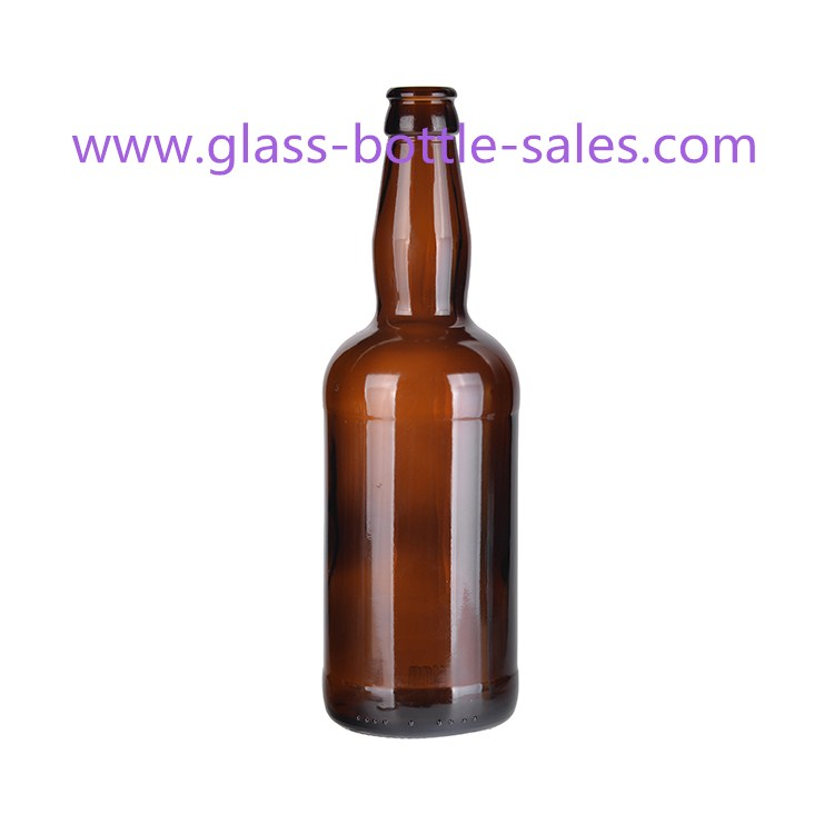 500ml Amber Beer Glass Bottle