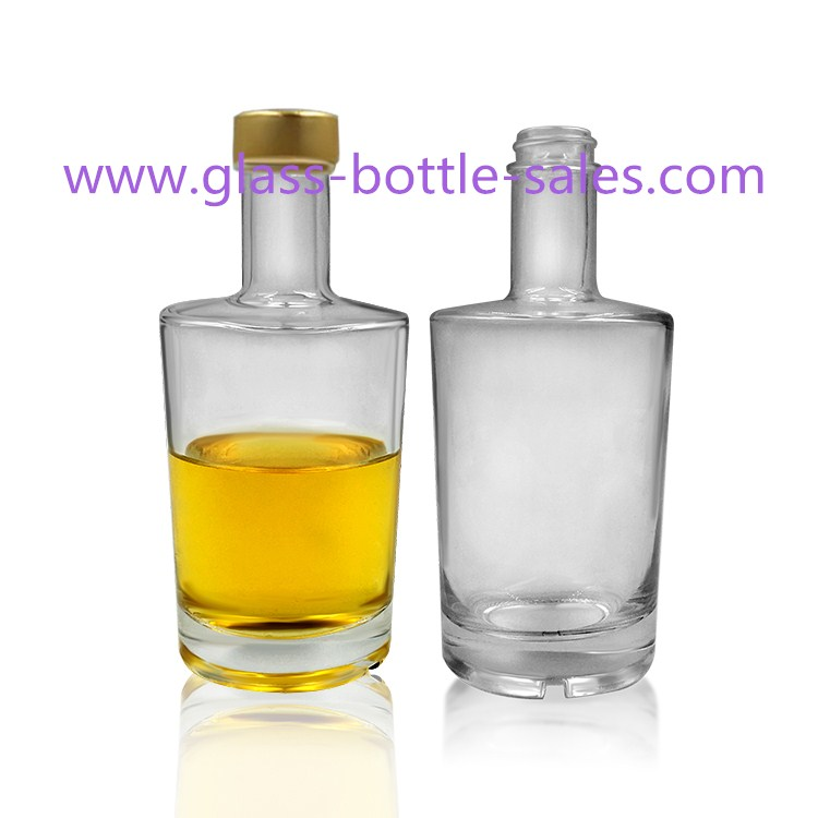 750ml Clear Alcohol Glass Bottle