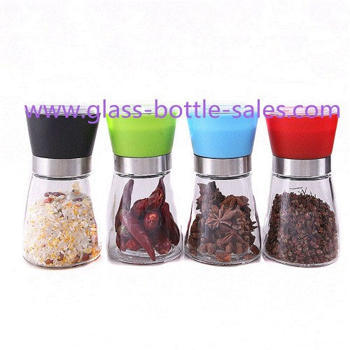 150ml Clear Spice Grinder Bottle