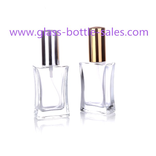 30ml Clear Perfume Glass Bottle With Sprayer