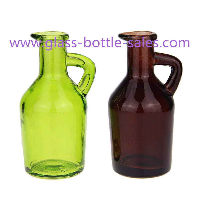 350ml Bird Style Colored Oil Glass Bottle