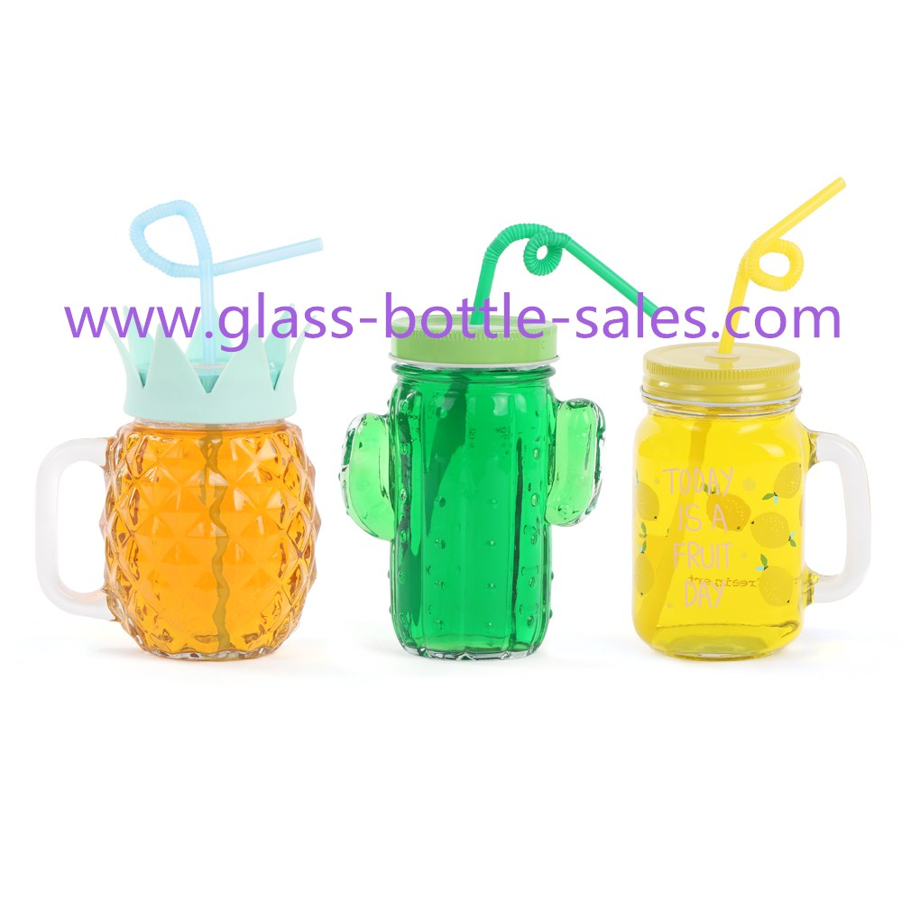 16oz Clear Glass Mason Jars