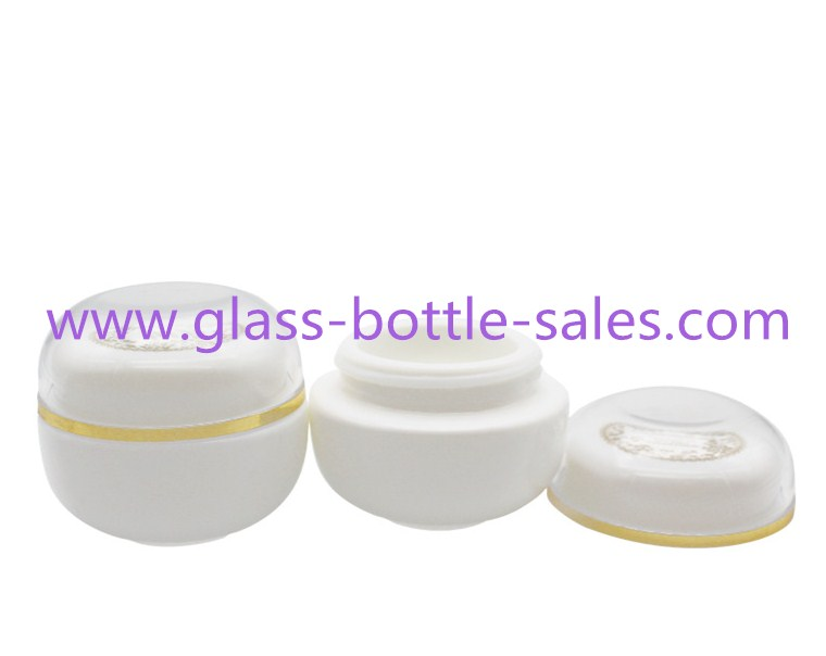 30g Opal Glass Cosmetic Jar