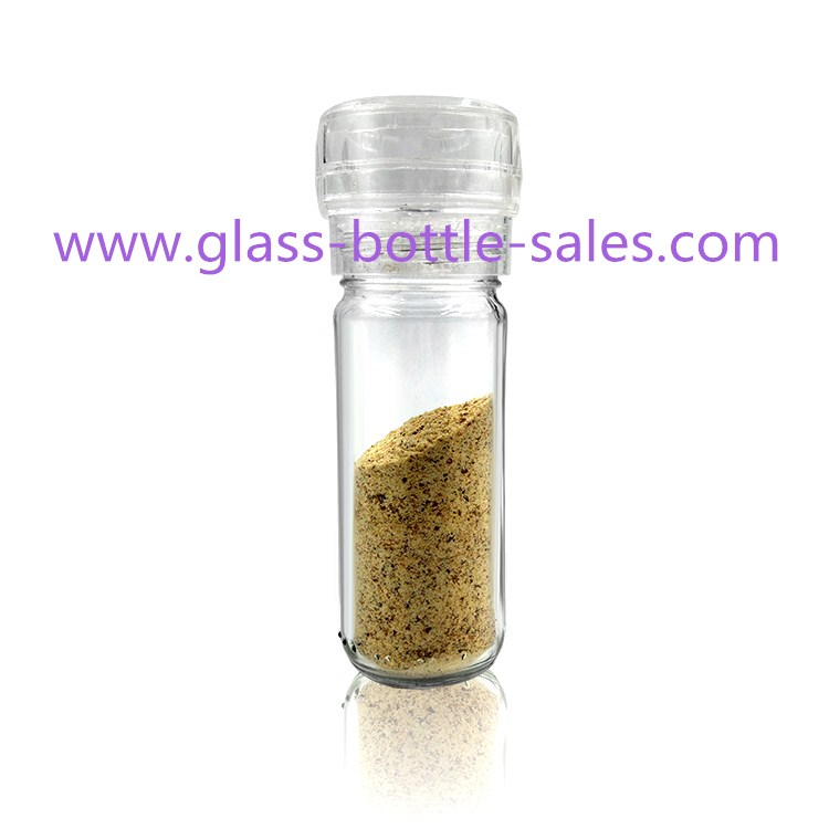 100ml Round Glass Grinder Bottle