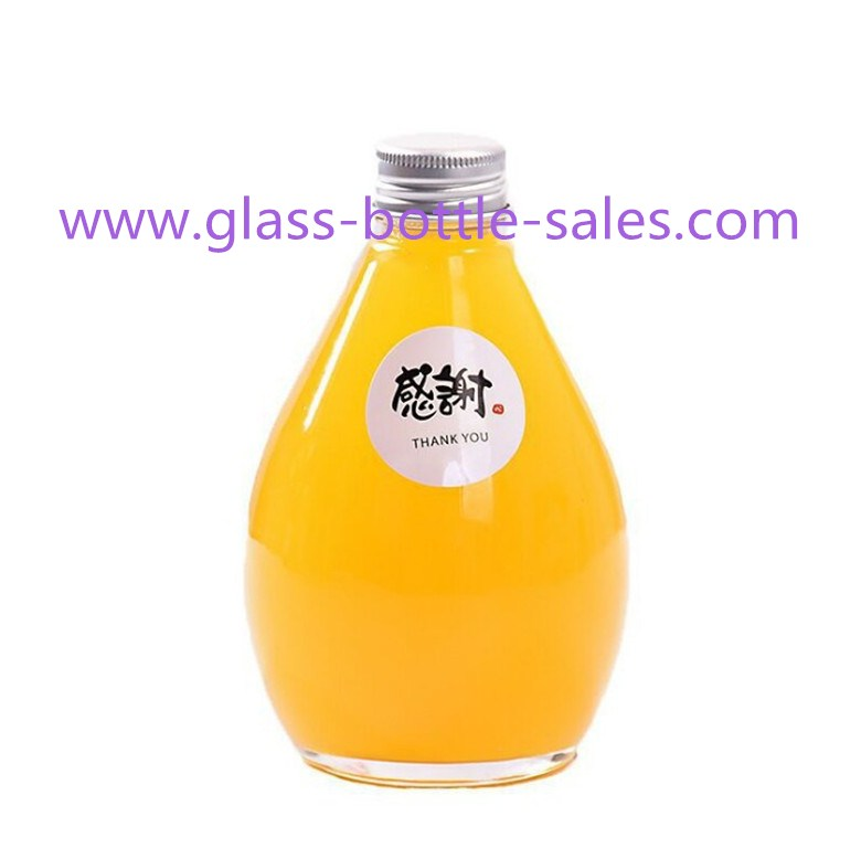 New Item 100ml,280ml,360ml,500ml Glass Juice Bottle