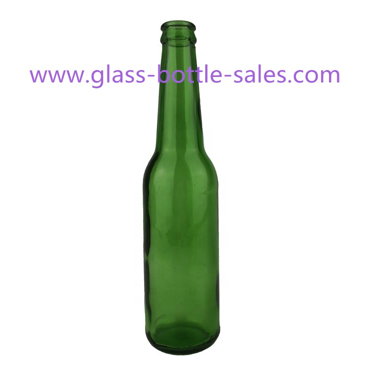 330ml Emerald Green Beer Glass Bottle